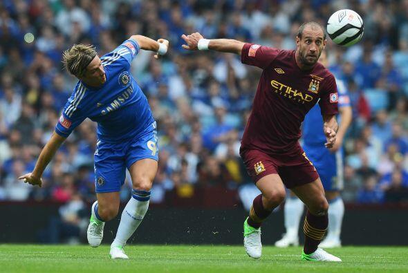 El City estaba lejos de dominar el partido y se metería en problemas en...