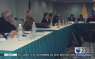 El Gobierno Venezolano rechaza nuevamente recurrir a las urnas para solu...