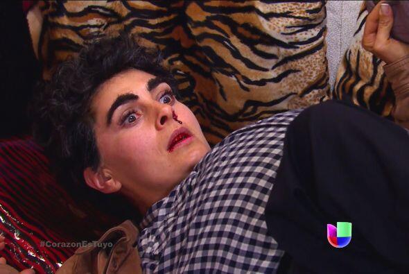 ¡Ahhh! Pero dudamos que te quedes tranquila Isabela, nada te detie...