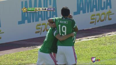 La sub 20 de México humilló a Cuba por 9 goles a 1