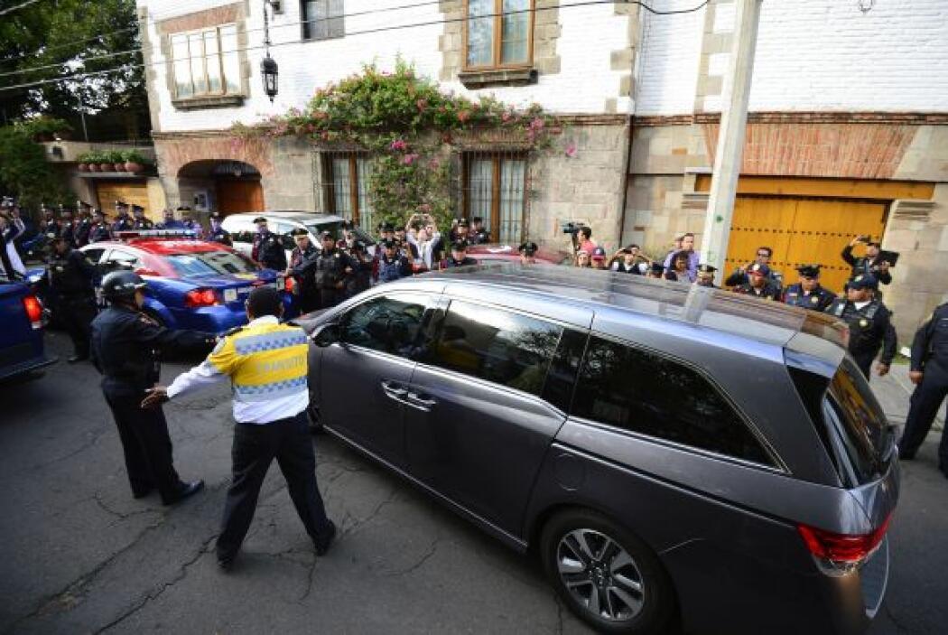Familiares de Gabriel García Márquez dejan su casa en la Ciudad de México.