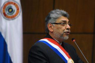 El presidente paraguayo, Fernando Lugo dijo sentirse aliviado porque pod...