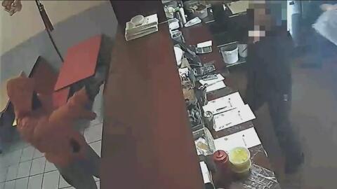 Cámara de seguridad capta robo frustrado en Brooklyn