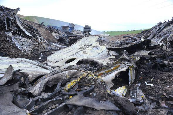 Notimex recuerda que el KC-135 se estrelló después de habe...