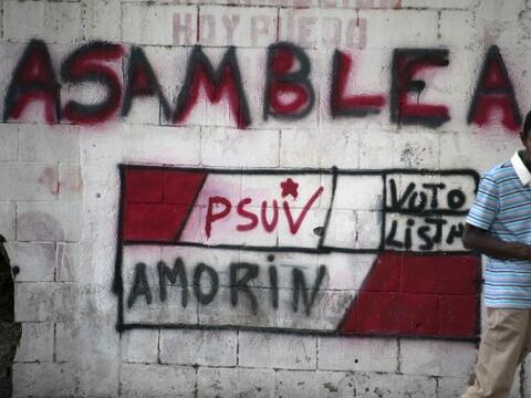 Los venezolanos vuelven a las urnas el próximo domingo en unas eleccione...