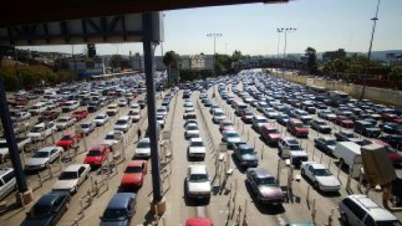Este jueves se espera una gran afluencia vehicular en los cruces fronter...