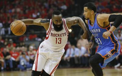 James Harden y sus Rockets eliminan a Westbrook y el Thunder.