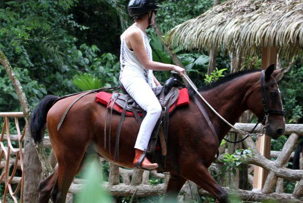 ¡Montar a caballo!