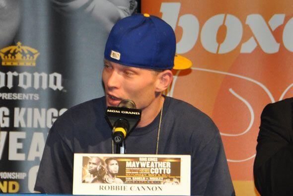 Robbie Cannon dijo estar listo para ofrecer su mejor pelea ante Figueroa.