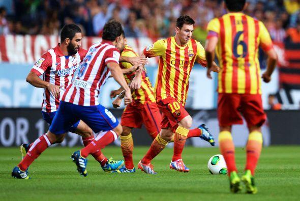 Lionel Messi y los barcelonistas buscaban jugar a su particular estilo,...