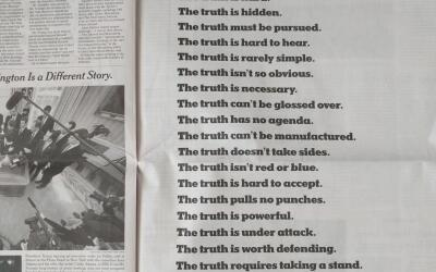 El aviso de The New York Times