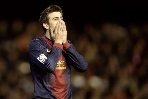 Los barcelonistas pasarían bastantes apuros en Mestalla, ante un rival q...