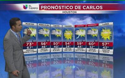 Llega al aire polar al área de Houston