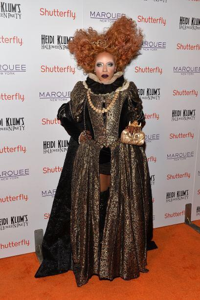 ¿El disfraz de una reina? La caracterización es simplement...