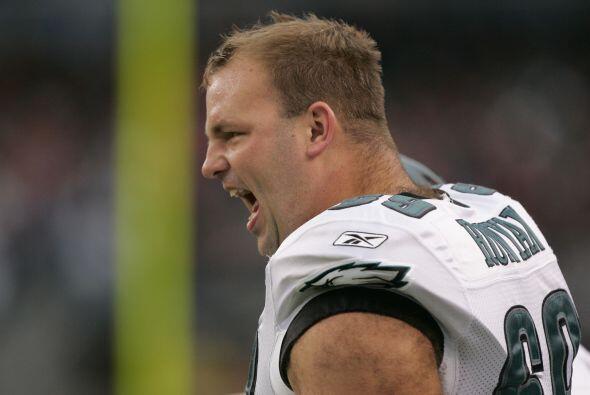 Jon Runyan fue tacle ofensivo de los Philadelphia Eagles en la NFL, incl...