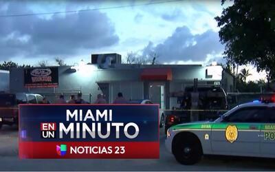 'Miami en un Minuto': un hispano fue herido por hombres armados que lo a...