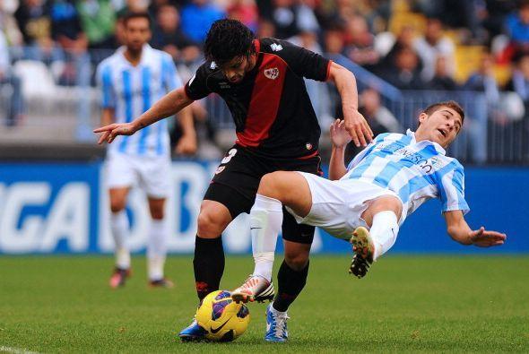 Al final el Rayo tumbó al Málaga que pierde 3 puntos importantes en su c...