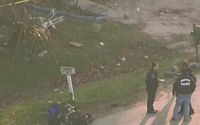 Persecución policiaca en Houston terminó con un motociclista muerto