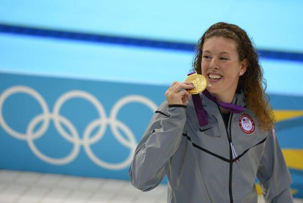 3- ALLISON SCHMITT, nadadora  Medallas de oro: 3  Medallas de plata: 1...