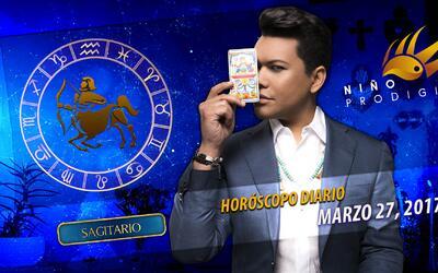 Niño Prodigio - Sagitario 27 de marzo, 2017