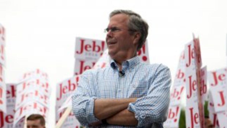 Jeb Bush en campaña