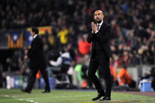 Se notaba la preocupación de Guardiola, pero su equipo siguió jugando de...