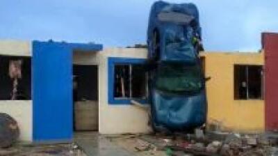 Un tornado dejó al menos 11 muertos en Ciudad Acuña, ciuda...