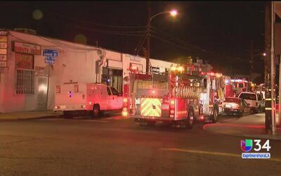 Investigan incendio en una tienda de mascotas en Inglewood