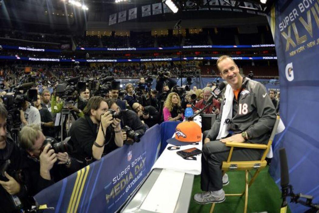 Manning dijo sentirse rejuvenecido tras su llegada a los Broncos.