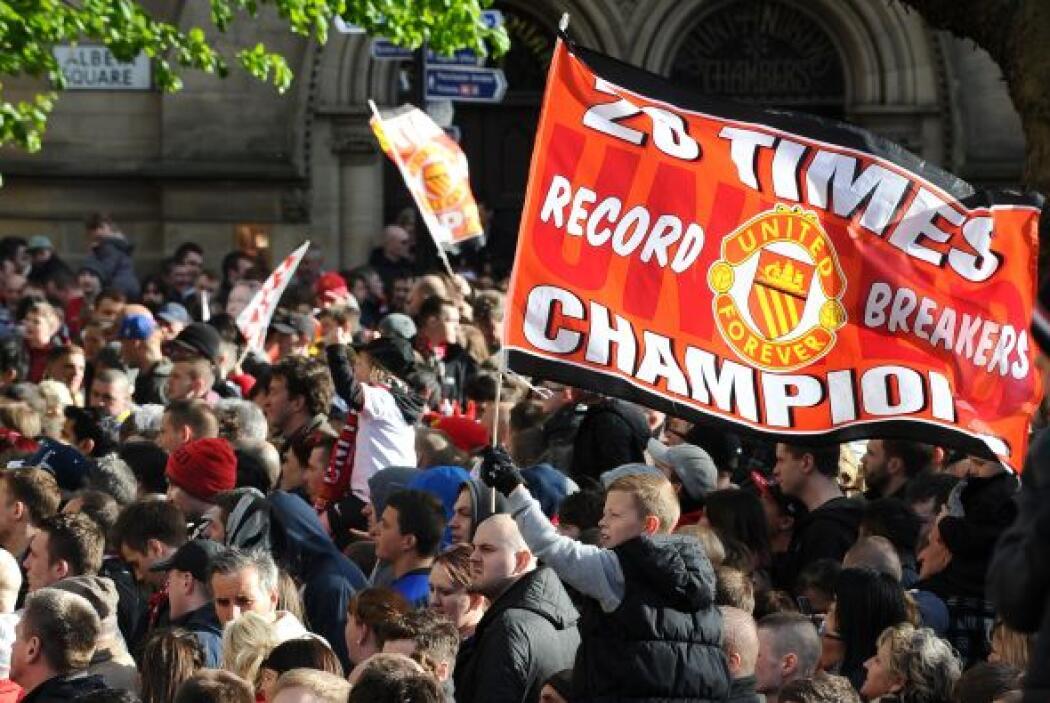 Ya son 20 títulos del mayor torneo inglés en las vitrinas del United.