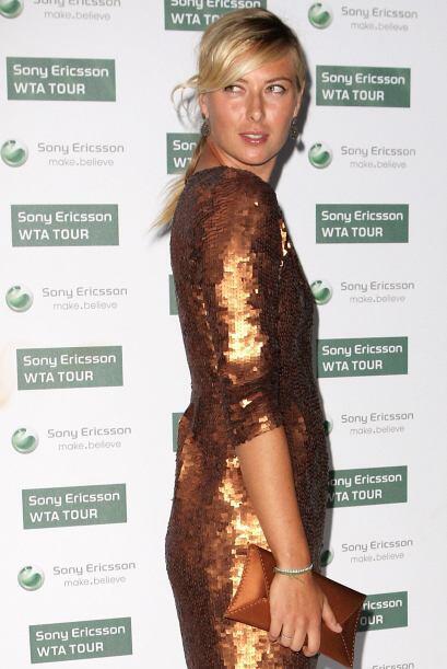 Es la heredera del puesto que dejó vacante Anna Kournikova, ex tenista r...