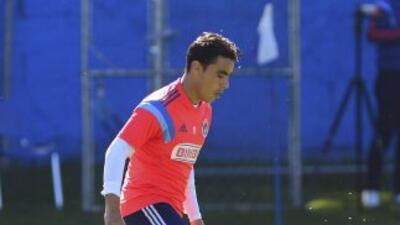 Omar Bravo, delantero de Chivas.
