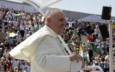 El Papa, de gira en Jordania
