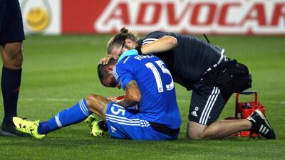 Andrés Romero sufre lesión con Montreal Impact
