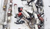 El accidente dejó decenas de lesionados.