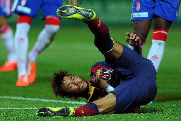 Neymar fue de los jugadores más ingeniosos e incisivos de la cancha, per...