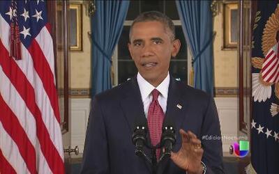 Obama: EEUU no descansará hasta eliminar a ISIS