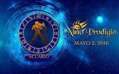 Niño Prodigio - Acuario 2 de mayo, 2016