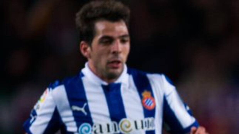 Víctor Sánchez y la plantilla del espanyol parecen muy complacidos con e...