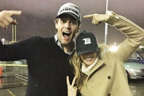 Gisele Bündchen presumió en Instagram a su esposo, Tom Brady, quien se s...