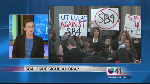 ¿Qué pasará después de la firma de la ley SB 4?