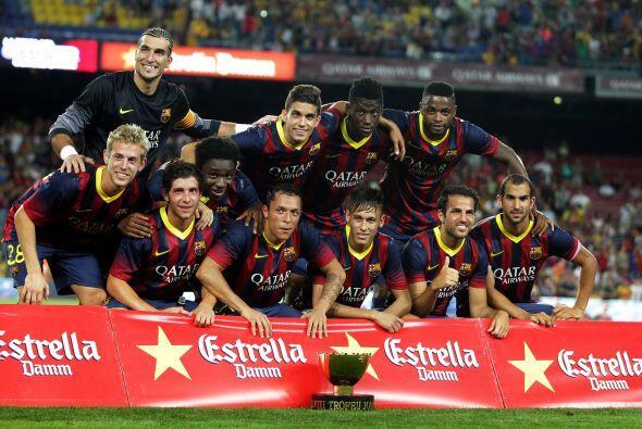 Primer título y fiesta para comenzar la temporada.