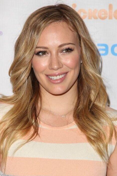 Hilary Duff, mujer con un cabello 'blondie' que la ha súper caracterizad...