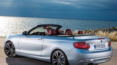 El Serie 2 estrenará su versión convertible en el Autoshow de París.