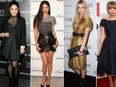 Estas famosas se pelean por ganar el premio a la mujer con mejor estilo....