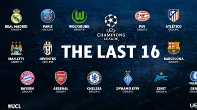 16 clasificados en la Champions
