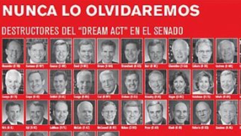 La Raza reiteró el llamado a imprimir la lista de los senadores que no a...