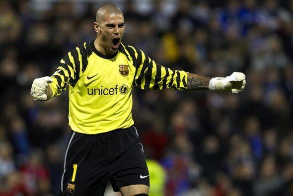 Víctor Valdés es otro de los internacionales que esperan p...