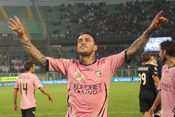 Palermo ganó 2-0 con goles de Fabrizio Miccoli y Josip Ilicic.