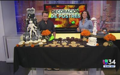 ¿Cómo decorar tus postres para Halloween?